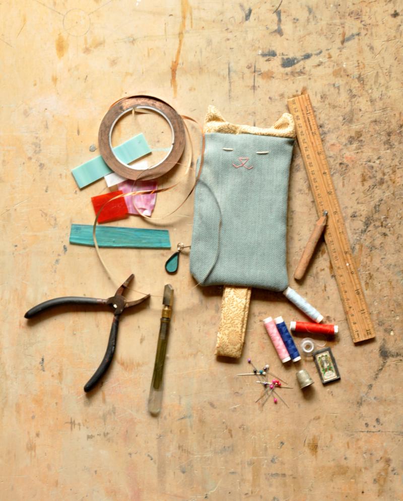 Workshop 2×1: Cucito e lavorazione del Vetro
